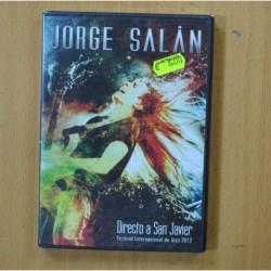 JORGE SALAN - DIRECTO A SAN JAVIER FESTIVAL INTERNACIONAL DE JAZZ 2012 - DVD