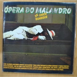 CHICO BUARQUE - OPERA DO MALANDRO - GATEFOLD - 2 LP