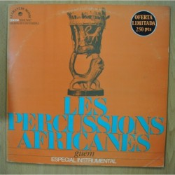 GUEM - LES PERCUSSIONS AFRICANES - GATEFOLD - LP