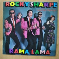 ROCKY SHARPE AND THE REPLAYS - RAMA LAMA - LP
