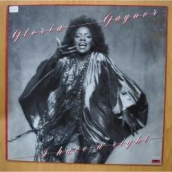 GLORYA GAYNOR - I HAVE A RIGHT - LP
