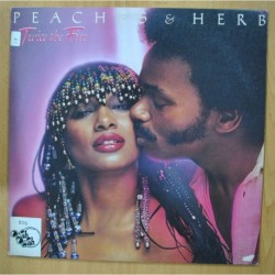 PEACHES & HERB - TWICE THE FIRE - LP