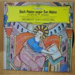 BACH / KARAJAN - PASION SEGUN SAN MATEO - LP