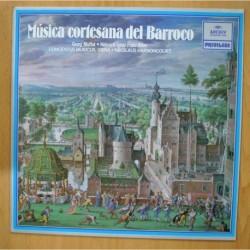 GEORG MUFFAT / HEINRICH IGNAZ FRANZ BIBER - MUSICA CORTESANA DEL BARROCO - LP