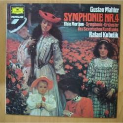 GUSTAV MAHLER / KUBELIK - SYMPHONIE NR 4 - LP