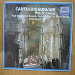 PETER MAURUS PFAFF - CANTO GREGORIANO MISA DE NAVIDAD - LP