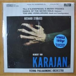 KARAJAN / STRAUSS - TILL EIJLENSPIEGEL´S MERRY PRANKS - LP