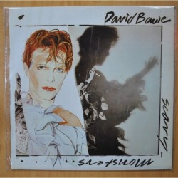 DAVID BOWIE - SCARY MONSTERS - PROMO - LP