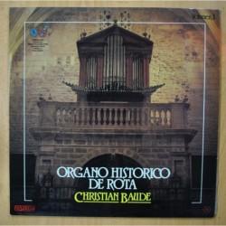 CHRISTIAN BAUDE - ORGANO HISTORICO DE ROTA - LP