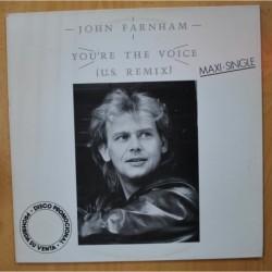 JOHN FARNHAM - YOU´RE THE VOICE - MAXI