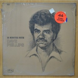 DAVE PHILLIPS - 36 MINUTES WITH - LP