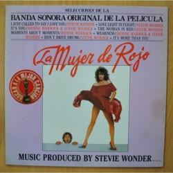 VARIOS - LA MUJER DE ROJO - GATEFOLD - LP