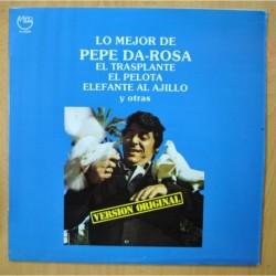 PEPE DA ROSA - LO MEJOR DE - LP