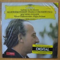 BEETHOVEN / MAURIZIO POLLINI - KLAVIERKNOZERT PIANO CONCERTO NO 1 - LP