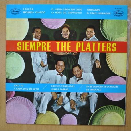 THE PLATTERS - SIEMPRE THE PLATTERS - LP