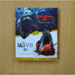 PIRAÑA 3D / SAW VII 3D - BLURAY