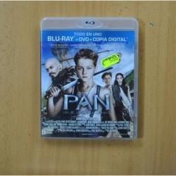 PAN VIAJE A NUNCA JAMAS - BLURAY + DVD