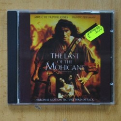 B.S.O. THE LAST OF THE MOHICANS - CD
