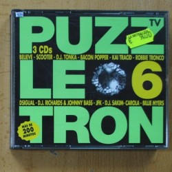 VARIOUS - PUZZLETRON - 3 CD