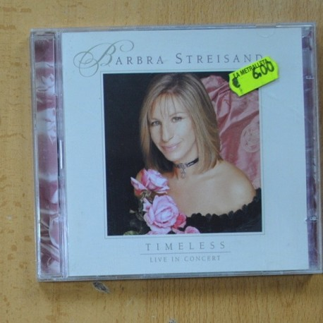 BARBRA STREISAND - TIMELESS - LIVE IN CONCERT - CD