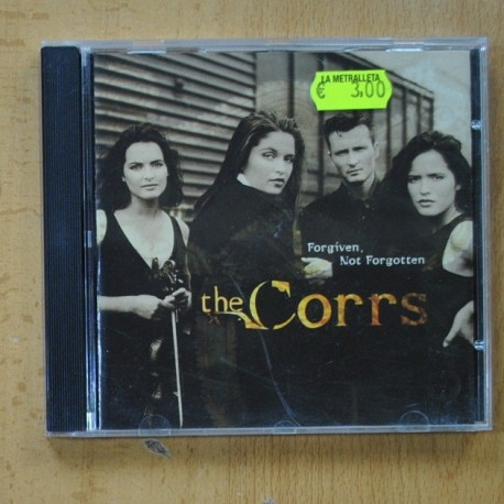 THE CORRS - FORGIVEN NOT FORGOTTEN - CD