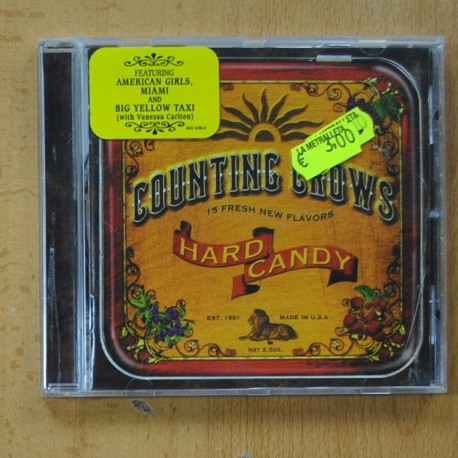 COUNTING CROWS - HARD CANDY - CD