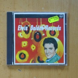 ELCIS PRESLEY - ELVIS GOLDEN RECORDS - CD