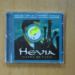 HEVIA - TIERRA DE NADIE - CD