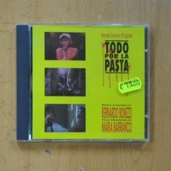 BERNARDO BONEZZI / MARIA BARRANCO - TODO POR LA PASTA - CD