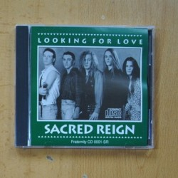 SACRED REIGN - LOOKING FOR LOVE - CD EDICION RUSA