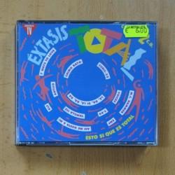 VARIOS - EXTASIS TOTAL - 2 CD