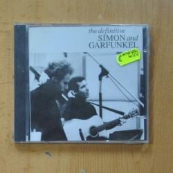 SIMON AND GARFUNKEL - THE DEFINITIVE - CD
