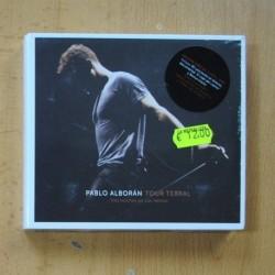 PABLO ALBORAN - TOUR TERRAL - 2 CD + DVD