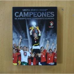 UEFA EURO 2008 CAMPEONES EL EQUIPO QUE CONQUISTO EUROPA - DVD