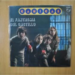 CANICAS - EL FANTASMA DEL CASTILLO - LP