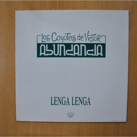 LOS COYOTES DE VICTOR ABUNDANCIA - LENGA LENGA - MAXI