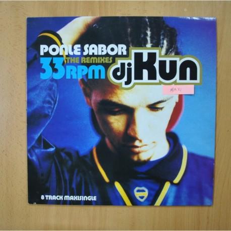 DJ KUN - PONLE SABOR - MAXI
