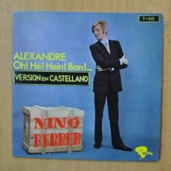 NINO FERRER - ALEXANDRE - SINGLE