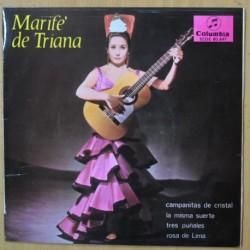 MARIFE DE TRIANA - CAMPANITAS DE CRISTAL + 3 - EP