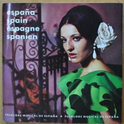 VARIOS - FOLKLORE MUSICAL DE ESPAÑA - GATEFOLD - 2 SINGLE