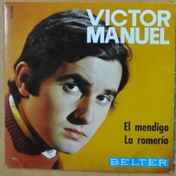 VICTOR MANUEL - EL MENDIGO - SINGLE