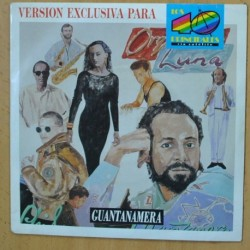 ORQUESTA LUNA / PHIL MANZANERA - GUANTANAMERA - SINGLE