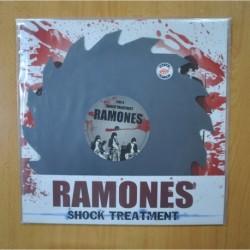 RAMONES - SHOCK TREATMENT - LP