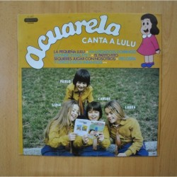 ACUARELA - CANTA A LULU - LP