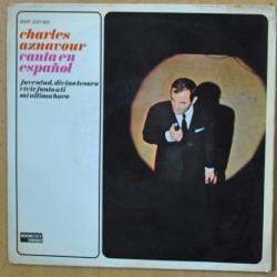 CHARLES AZNAVOUR - JUVENTUD DIVINO TESORO - SINGLE