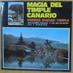 ANDRES MACIAS - MAGIA DEL TIMPLE CANARIO + 3 - EP