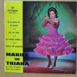MARIFE DE TRIANA - EN EL QUICIO DE MI PUERTA + 3 - EP