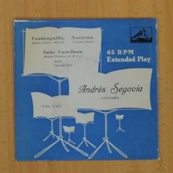 ANDRES SEGOVIA - FANDANGUILLO + 2 - EP
