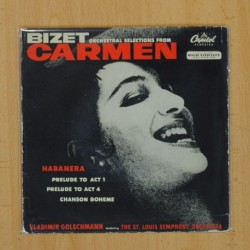 BIZET - HABANERA + 3 - EP