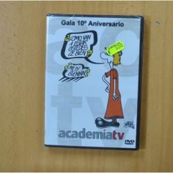 GALA 10 ANIVERSARIO ACADEMIA TV - DVD